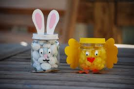 Easter And Baby Food Jar